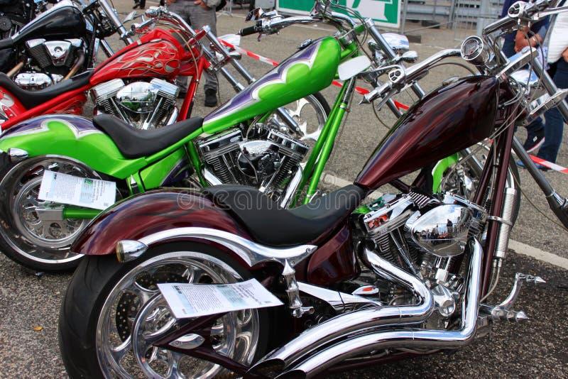 Harley Davidson Tagen 2016, Hambourg images stock