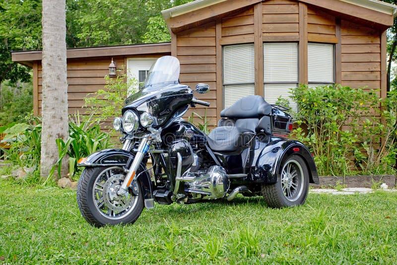 Harley-Davidson Trike royalty-vrije stock fotografie