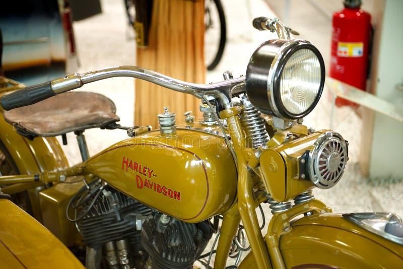 Harley Davidson V/VL - musée Sinsheim photo stock