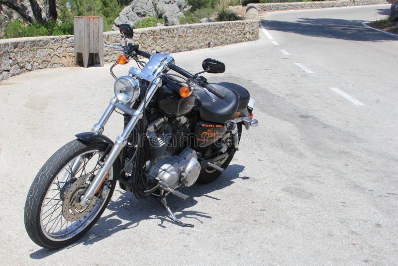 Harley Davidson voor huur royalty-vrije stock foto