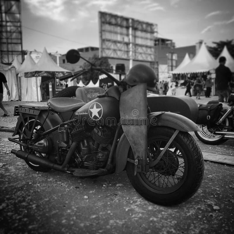 Harley Davidson stock image