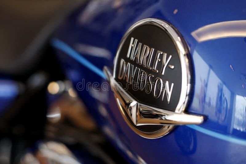 Harley Davidson Zeichen lizenzfreies stockbild