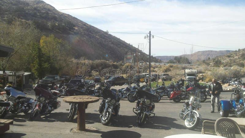 Harley Hangout arkivbild