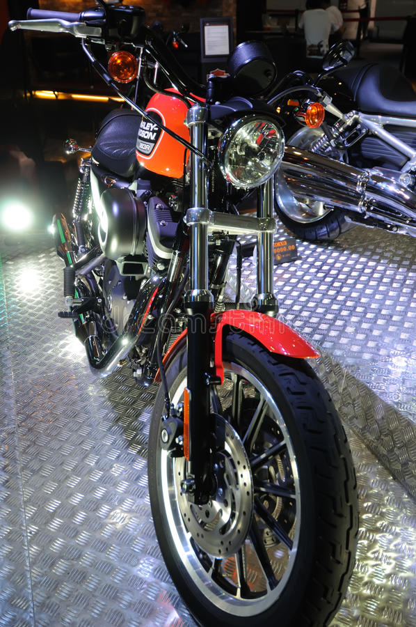 Harley motor bike royalty free stock image
