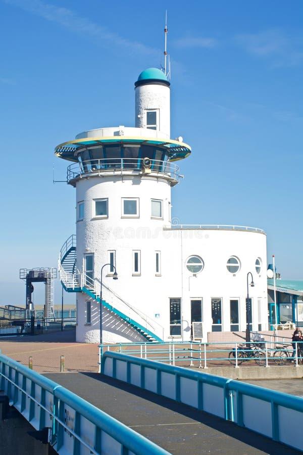 Harlingen de la oficina del puerto imagen de archivo libre de regalías