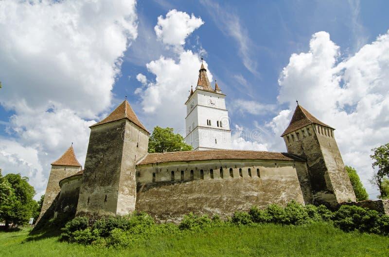 Harman fortyfikował kościół zdjęcia royalty free