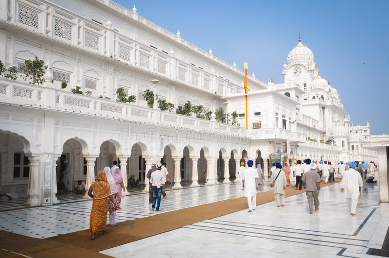 The Harmandir Sahib Complex, Amritsar, India stock photos