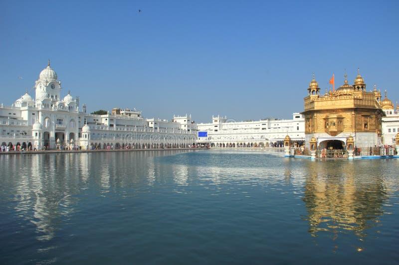Harmandir Sahib (The Golden Temple). royalty free stock image