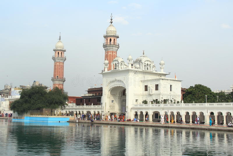 The Harmandir Sahib(Golden Temple)-2. stock photography