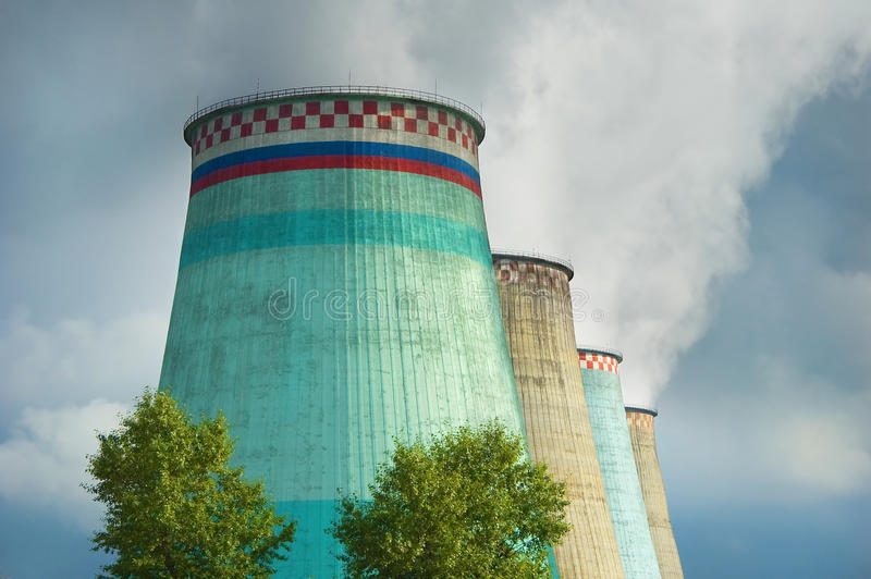 Download Harmful Emissions In Atmosphere Stock Photo - Image: 28702140