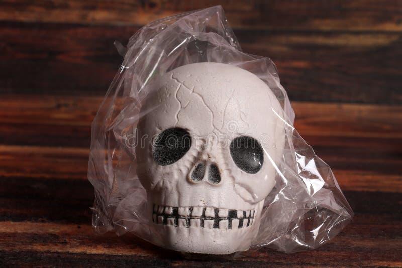 Harmfull plastic stock image