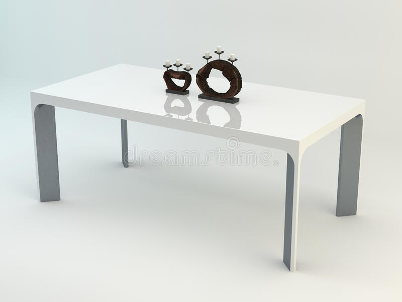 HARMONIA– Dining Table 01 stock image
