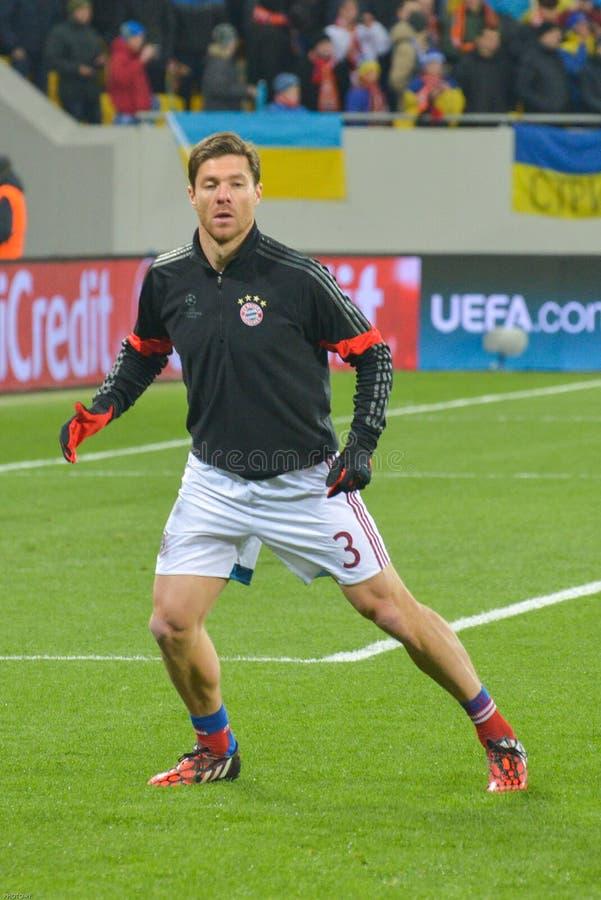 Harmonia entre FC Shakhtar contra FC Baviera Champions League fotos de stock