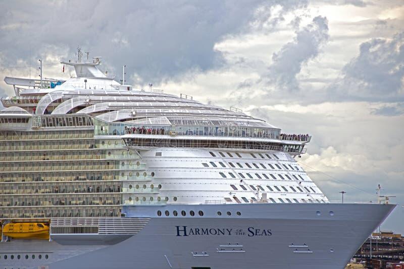 Harmonia morza Southampton Nawadnia obrazy royalty free
