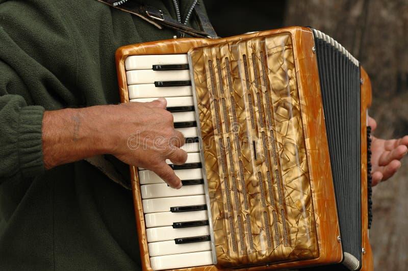 harmonica arkivbild
