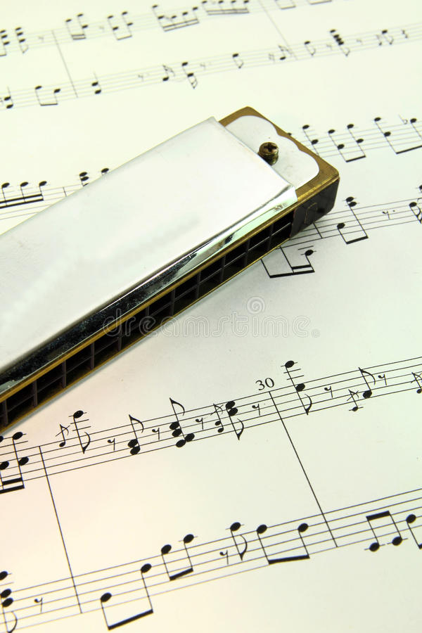 Harmonica photographie stock libre de droits