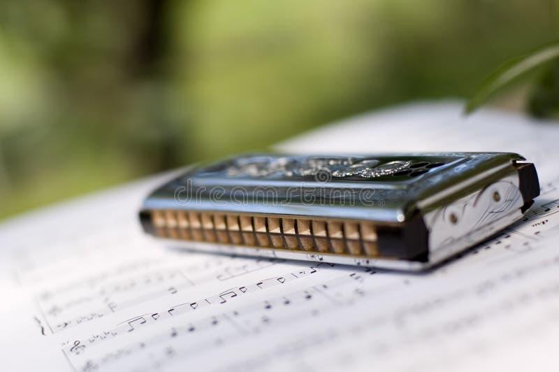 Harmonica photo stock