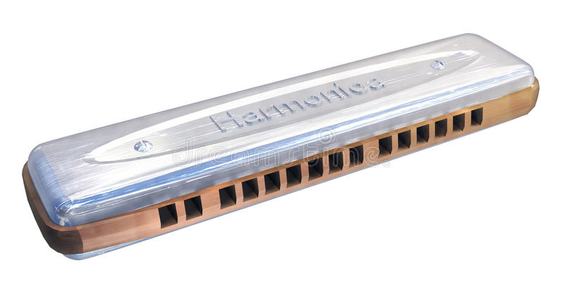 harmonica royaltyfri illustrationer