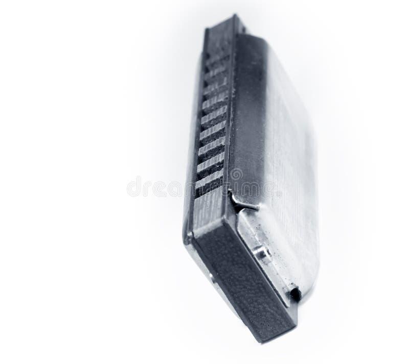 harmonica de bleus image libre de droits