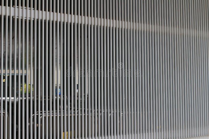 Harmoniczny wzór popielata betonowa ściana zdjęcia stock