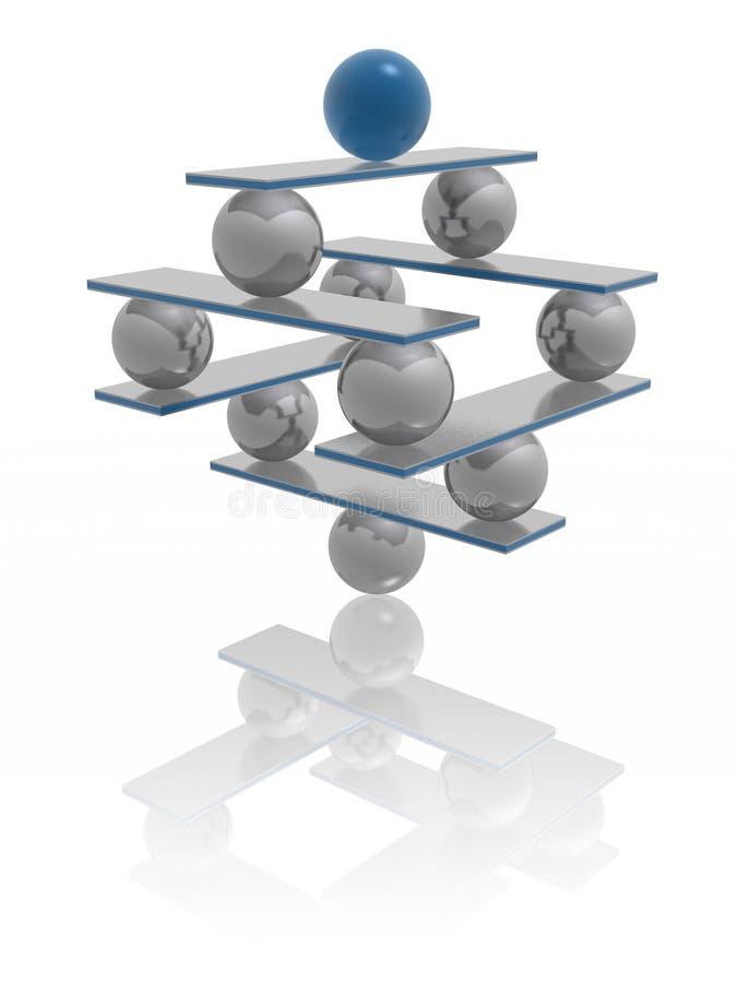 Harmonie et équilibre illustration libre de droits