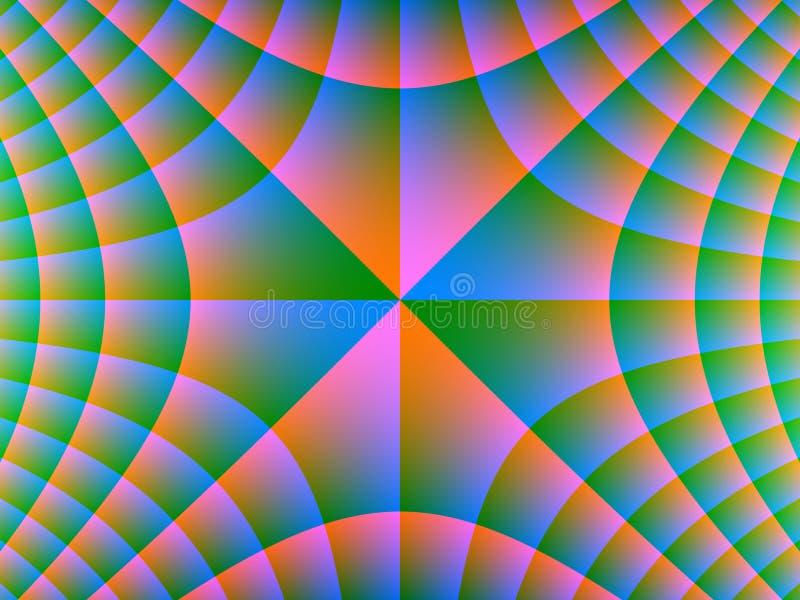 Harmonie radiale illustration stock