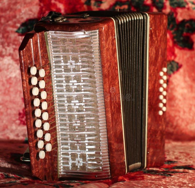 Harmonika stock fotografie