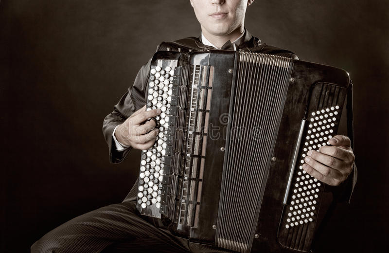 Harmonika royalty-vrije stock foto's