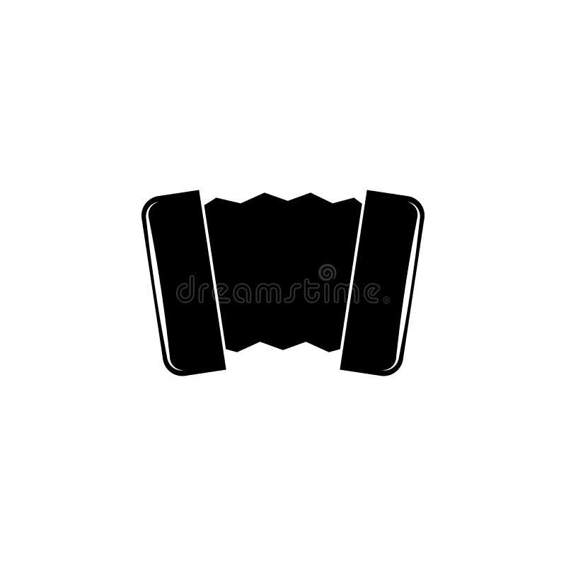 Harmonisch pictogram Element van muziekpictogram Grafisch het ontwerppictogram van de premiekwaliteit Tekens en symboleninzamelin royalty-vrije illustratie