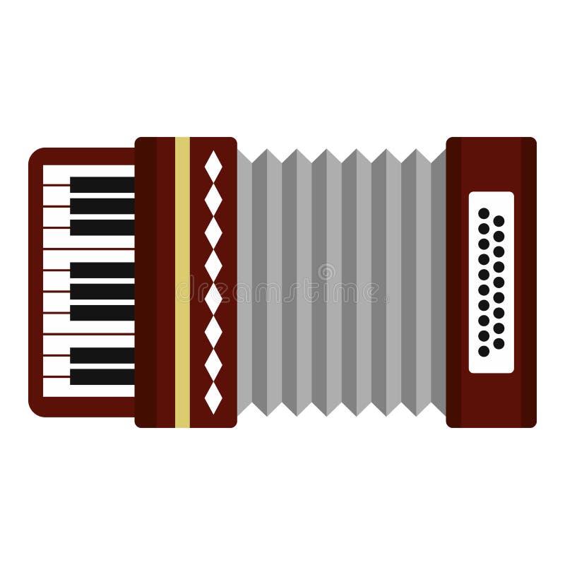 Harmonisch pictogram, vlakke stijl royalty-vrije illustratie