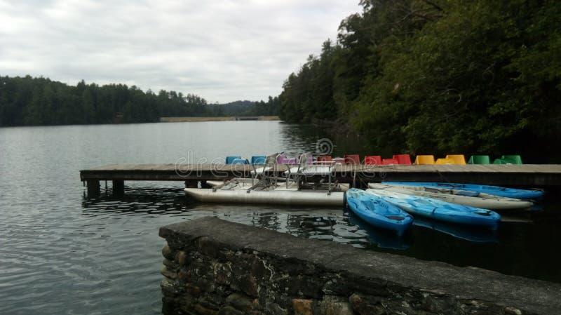 Harmonisk sjö arkivfoto