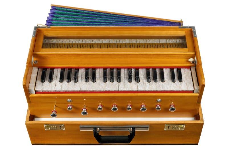 Harmonium indio imagen de archivo libre de regalías
