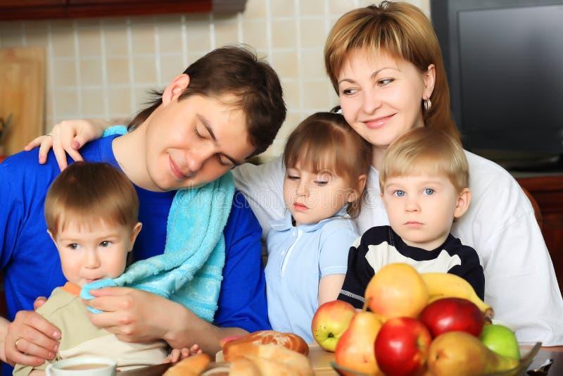 Harmonius Familie lizenzfreie stockbilder