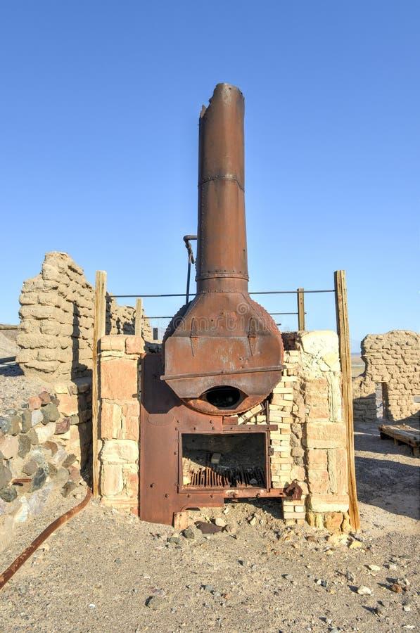 Download Harmony Borax Works, Death Valley Foto de archivo - Imagen de grava, armonía: 42426856