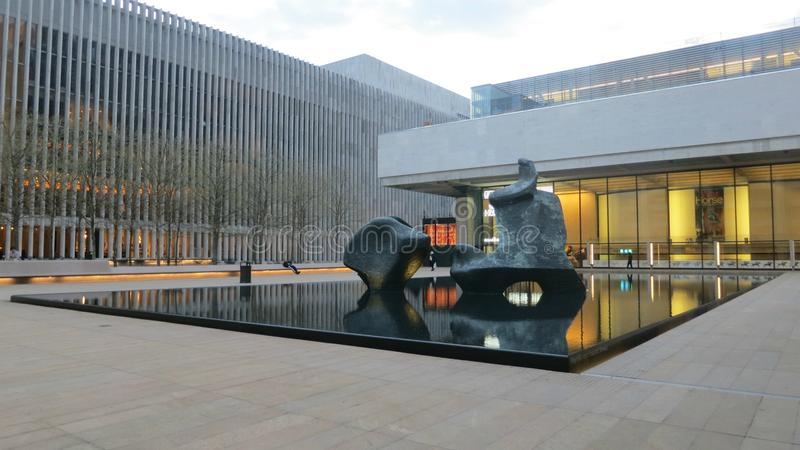 Lincoln Center In New York City Editorial Photography