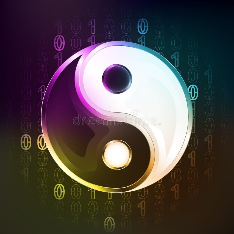 Harmony religion in binary internet modern space