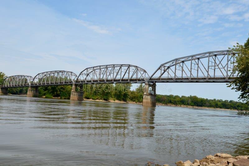 Harmony Way Bridge image stock