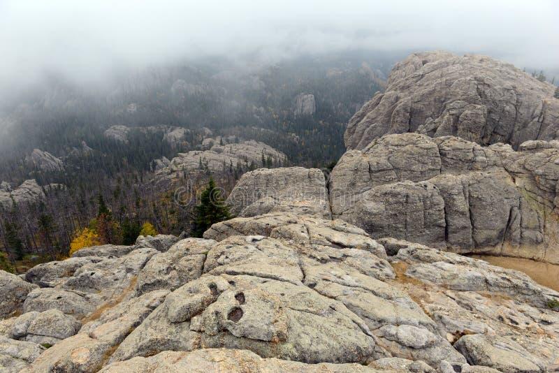 Harney Peak in the Black Hills, South Dakota royalty free stock photos