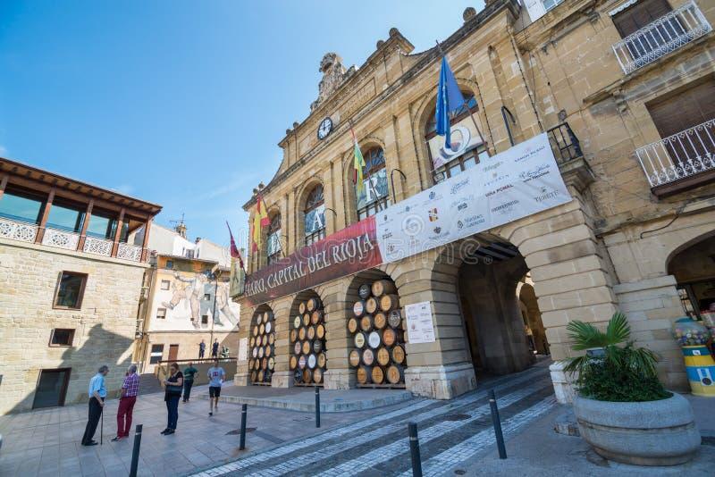 Haro, La Rioja stock fotografie