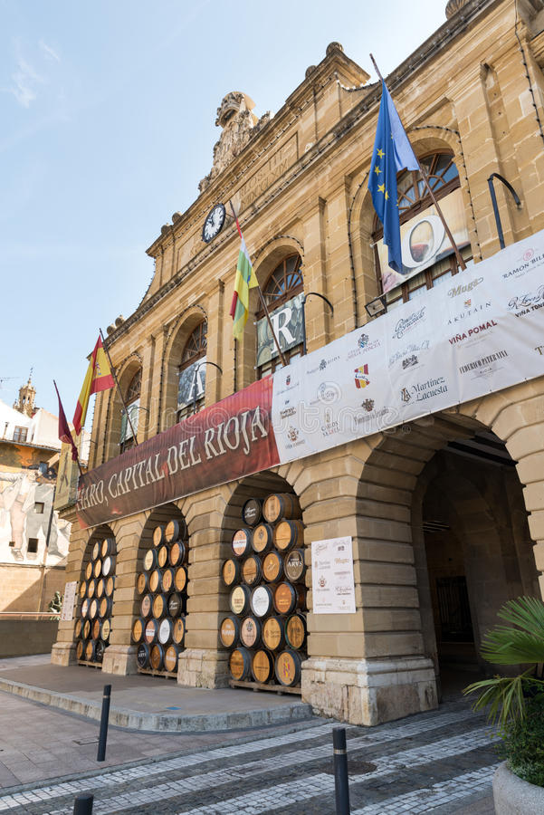 Haro, Rioja lizenzfreie stockbilder