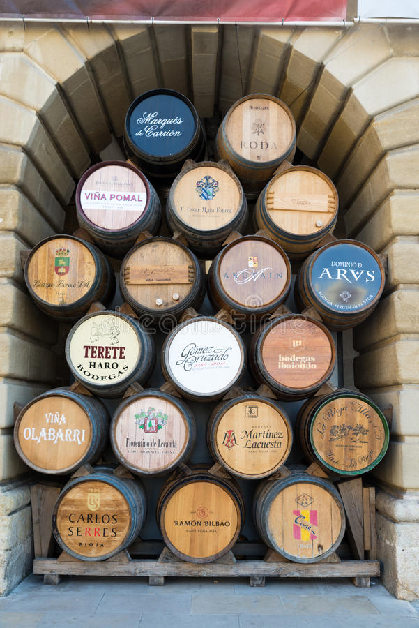 Haro, Rioja lizenzfreies stockbild