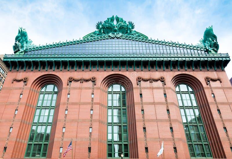Harold Bibliotecznego centrum Waszyngtoński budynek w w centrum Chicago fotografia royalty free
