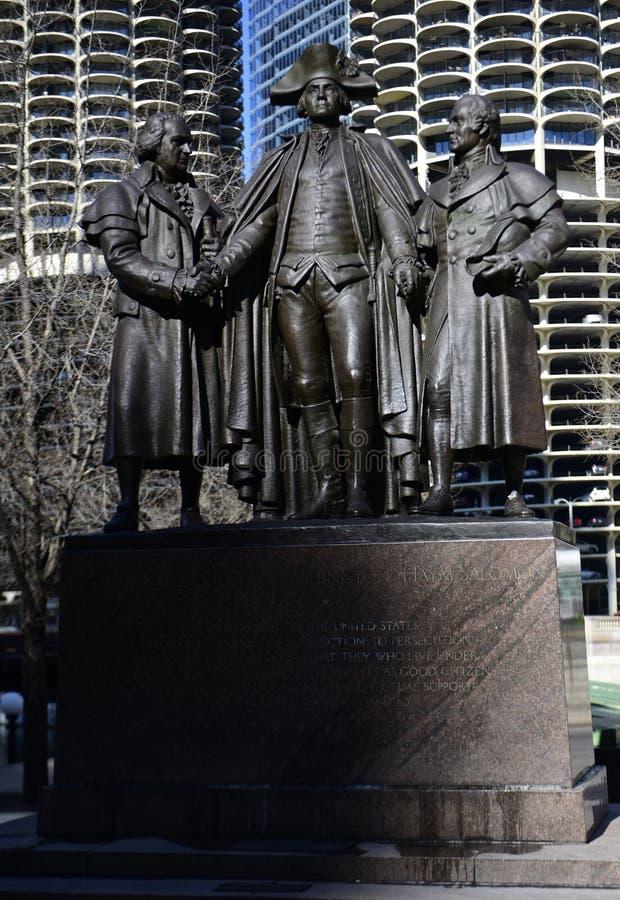 Harold Square Monument foto de archivo