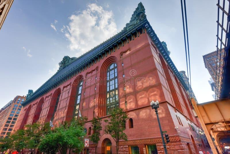 Harold Washington Library Center - Chicago stockbild