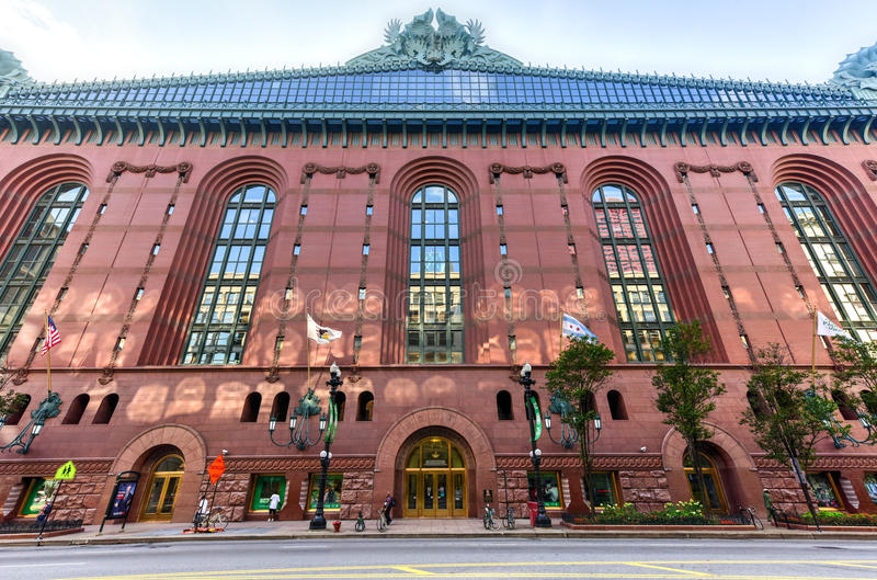 Harold Washington Library Center - Chicago royaltyfri fotografi