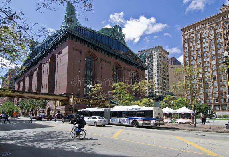 Harold Washington Library Chicago royalty free stock photos
