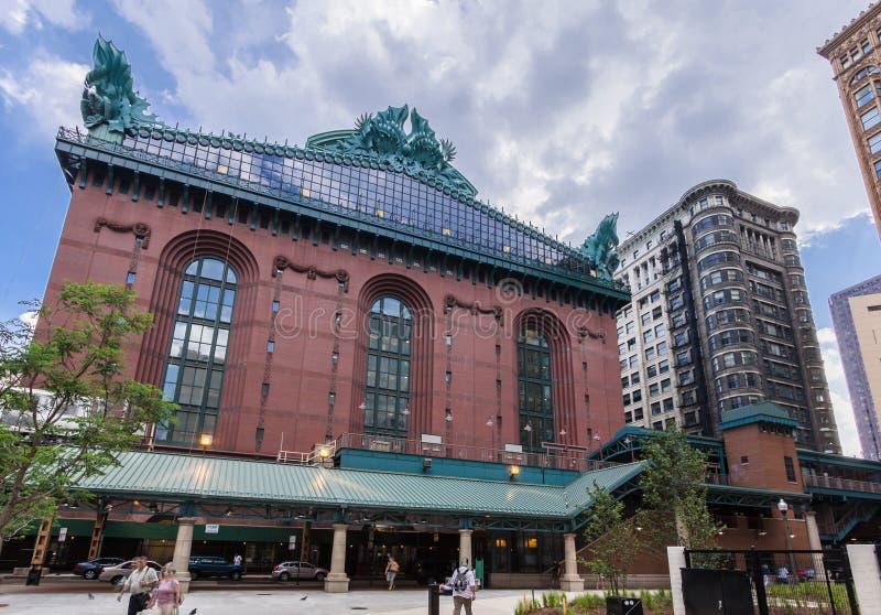 Harold Washington Library Chicago photographie stock libre de droits