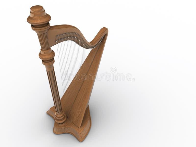 harp ilustracja wektor