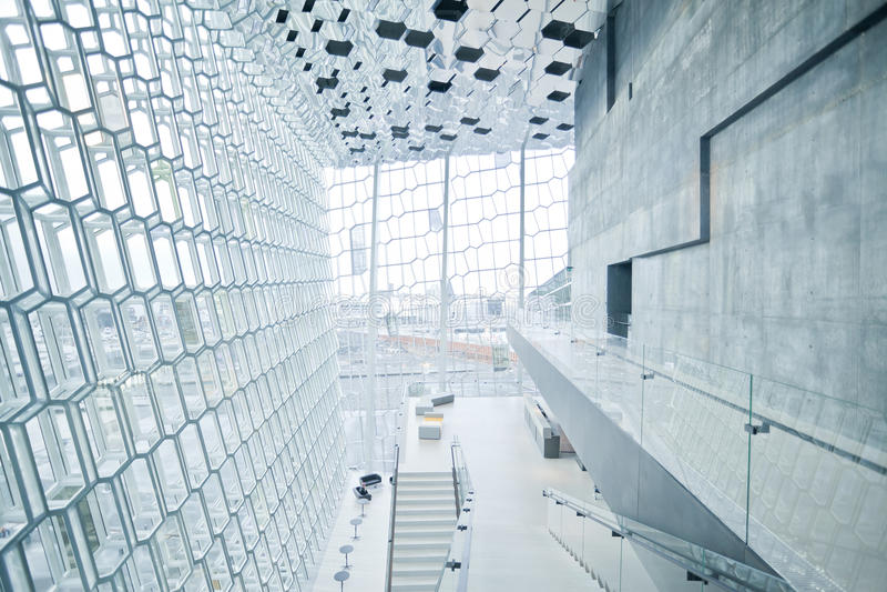 harpa Исландия reykjavik концертного зала стоковые фото