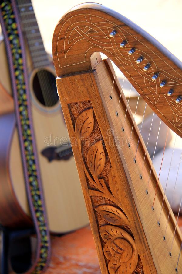 Harpa fotografering för bildbyråer
